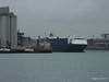 AUTO BAY reversing in to Berth 31 Passing VICTORIA C Southampton PDM 28-02-2015 15-09-20