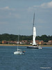 LEOPARD GBR-1R taking down sails Southampton Water PDM 22-07-2014 17-23-41