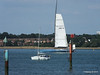 LEOPARD GBR-1R taking down sails Southampton Water PDM 22-07-2014 17-23-06