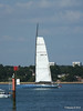LEOPARD GBR-1R taking down sails Southampton Water PDM 22-07-2014 17-22-58