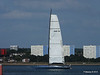 LEOPARD GBR-1R taking down sails Southampton Water PDM 22-07-2014 17-22-37
