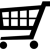 Shopping cart - black