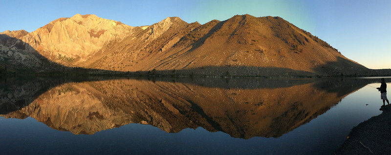 Laurel Mountain and ridge from Convict Lake