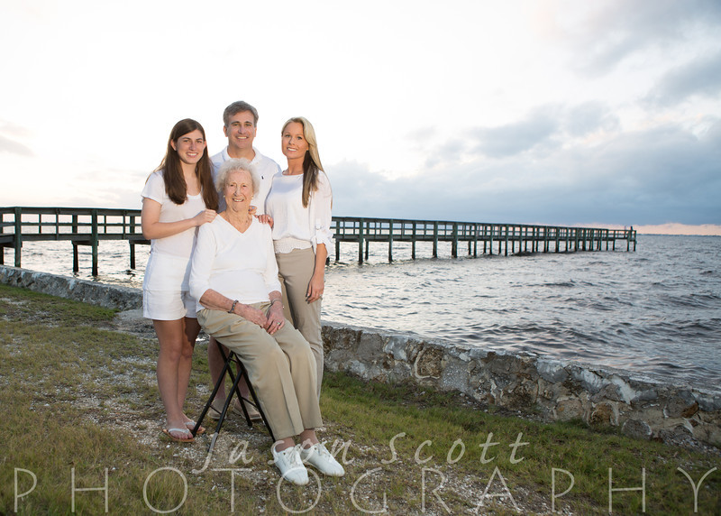 Stoutenburgh Family at Gilchrist Park in Punta Gorda, March 2014