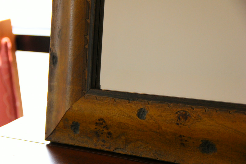 "24x36"" Framed Beveled Mirror, donated by Picture Parts"