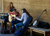 Sisters Folk Festival Song Writing Camp at Caldera Arts center.