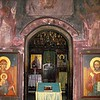 "License: cc-by/2.0 (2272 x 1704 px) (1524332 bytes) <a href=""http://ookaboo.com/"">http://ookaboo.com/</a><br /> Title: In the narthex of a small Orthodox church in Romania, looking through the doorway into the nave and Holy Doors"