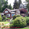 Houses and Gardens on Queen Ann Hill
