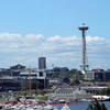 Space Needle, EMP, Science Center and Seattle