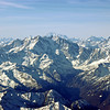 Europe's high Alps, including the Matterhorn and Mont Blanc massif
