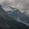 Glacier above Lake Louise