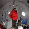 Thomas Nylen on Mount Erebus (CON2 site)