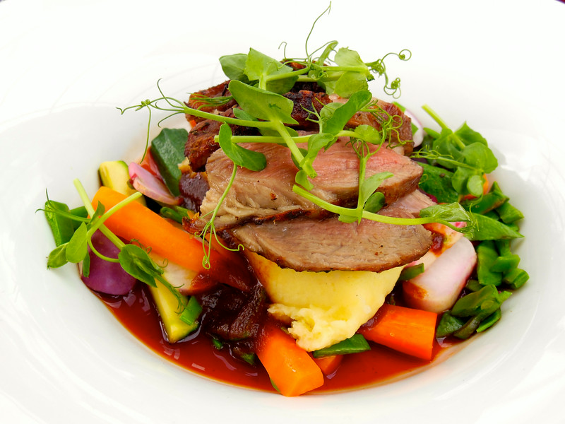 Beef dish in Dublin, Ireland