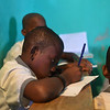 Haiti PRODEPUR school student students boy boys writing