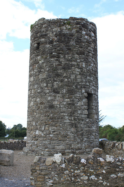Part of the original monastery is this round tower, across the street from St. Columba's Church.
