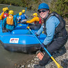 Expedition leader Lilly Grbavach and six eager participants prepare to embark on a day-long raft trip down a beautiful stretch of the Nenana River offered by UAF Outdoor Adventures.