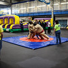 Activities during the 2013 Spring Fest Field Day were moved indoors due to cold weather.
