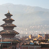Nepals' tallest pagoda, the Nyatapola stands proud over the city of Bhaktapur