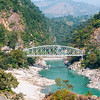 Kaligandaki Bridge spans