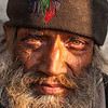 A homeless man at Pashupatinath. Nepal