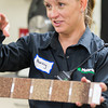 Nancy Teague, quality control manager at Malarkey Roofing in Oklahoma City, OK.
