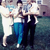 Mom holding cat Grandma Red Julie Rob