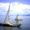 Sailing on Lake Victoria