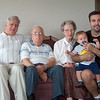 Four Generations<br /> Bill, Sam, Betty, Cody, Sean