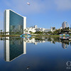 The Hyatt Regency in Long Beach on Pine Ave – The Lagoon Reflection