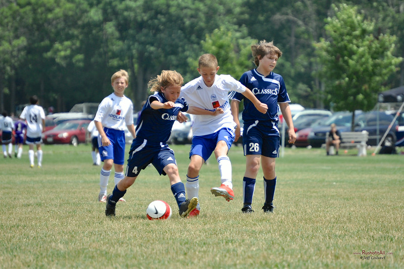 STN Premiere (U12) at US Club Soccer NE Regional Tournament, Pittsgrove, NJ, on June 28-29, 2009.