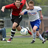 STN Rangers (U15) v. HMMS United in CPYSL (Central PA Youth Soccer League) game on April 15, 2012, in Mechanicsburg, PA.