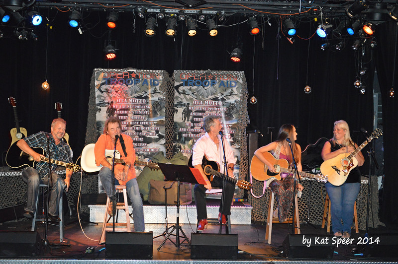 20140915 Operation Troop Aid at The Rutledge38 Frank Myers w Eddy Raven w Larry Gatlin w Lauren Mascitti w Leslie Satcher