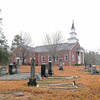 Oolenoy Baptist Church Cemetery<br /> <br /> The Oolenoy Baptist Church Cemetery was established ca. 1798 in the Pumpkintown community of Pendleton (later Pickens) District. Its significance is derived from its age, its association with the early settlement and growth of the South Carolina upcountry, and as a cemetery containing the graves of persons of transcendent local importance. It is also significant for its association with Oolenoy Baptist Church, of which it is adjacent to, founded in 1795 and the first church established in the Pumpkintown community. The cemetery is an excellent example of a typical early nineteenth century to mid-twentieth century church cemetery illustrating vernacular burial customs and gravestone art of the period. The cemetery contains 839 marked graves, with headstones, footstones, and a few plot enclosures of granite, marble, fieldstone, or soapstone. Most gravestones are marble or granite tablets, though ledgers, box-tombs, tomb-tables, obelisks, and pedestal-tombs are also present. The earliest marked grave dates from 1798, and occasional burials still occur. Listed in the National Register October 14, 2003.