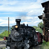 Chama, New Mexico - Cumbres & Toltec Scenic Railroad coming into the station