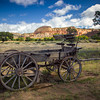 Buckboard at Ghost Ranch