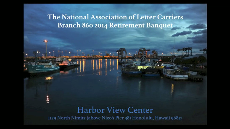 NALC Branch 860 2014 Retirement Banquet