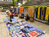 Ethnic hilltribe villagers in Sapa to sell their craft items in the central market, Vietnam, Asia.
