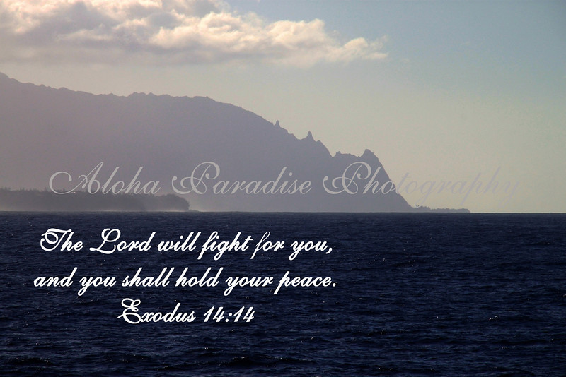 EXODUS 14:14, NCL, NORTH SHORE, KAUAI