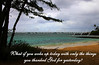 THANK GOD, KAILUA BEACH, OAHU