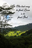 FIND LOVE, FIND GOD, KUILAU TRAIL, KAUAI