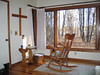 "A small cabin for spending silence and solitude with God. Provided by the Pacem in Terris Hermitage Center in St. Francis, MN.<br /> <br />  <a href=""http://www.paceminterris.org/Pacem/Main/PacemHome.asp"">http://www.paceminterris.org/Pacem/Main/PacemHome.asp</a>"
