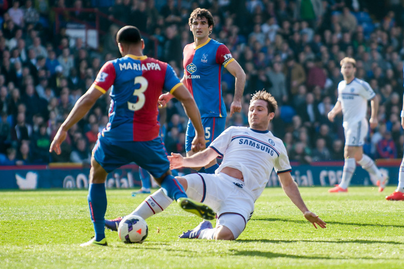 Crystal Palace v Chelsea, 29 March 2014