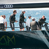 "24.07.2011. Sailing Audi MedCup circuit stage from Cagliari, Italy. Region of Sardinia Trophy, class TP 52 series. ""Ran"" team of Sweden."
