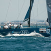 24.07.2011. Sailing Audi MedCup circuit stage from Cagliari, Italy. Region of Sardinia Trophy, class TP 52 series regatta. Audi Azzurra sailing team of Italy.