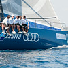 06.10.2011. Sailing TP52 World Championship 2011 from Porto Cervo, Italy. Day 3. Audi Azzurra Sailing Team from Italy.
