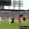 United States Men's National Team applauds the crowd after the game against Nigeria, EverBank Field, Jacksonville, Florida - 7 June 2014 (Photographer: Nigel Worrall)