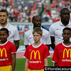 Fabian Johnson (left), DaMarcus Beasley (center) and Jozy Altidore (right) - United States Men's National Team vs Nigeria, EverBank Field, Jacksonville, Florida - 7 June 2014 (Photographer: Nigel Worrall)