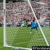 Jozy Altidore scores his second goal of the night for United States Men's National Team vs Nigeria, EverBank Field, Jacksonville, Florida - 7 June 2014 (Photographer: Nigel Worrall)