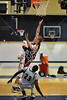 Hoston-based St. John's School's boys varsity basketball team plays Second Baptist away.