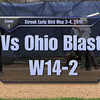 Streak Early Bird May 3-4, 2014 Game 3 vs Ohio Blast W14=2